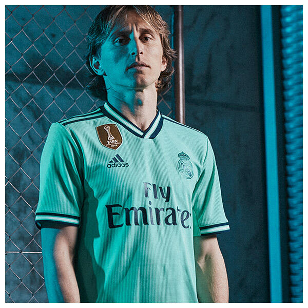Luka Modric wears the 2019-20 Real Madrid Third Kit