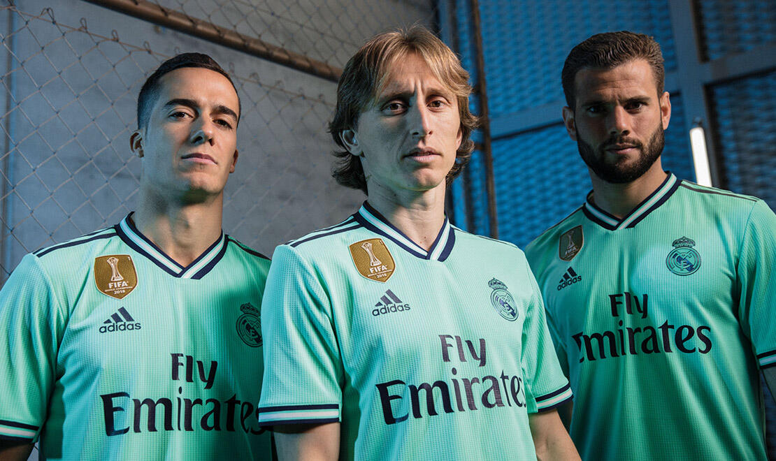 2019-20 Real Madrid CF Third kit