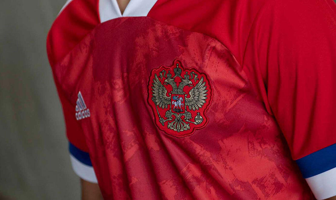 Russia Home Jersey for UEFA EURO2020™