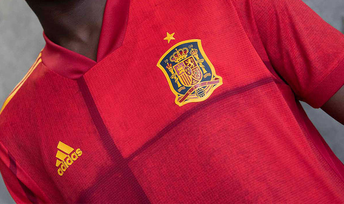 Spain Home Jersey for UEFA EURO2020™