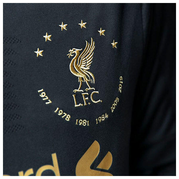 Liverpool's historic sixth Champions League win has been recognised by kit supplier New Balance