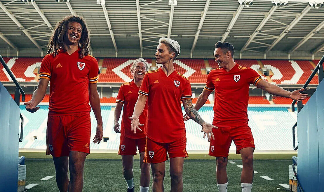 Wales Home Jersey for UEFA EURO2020™