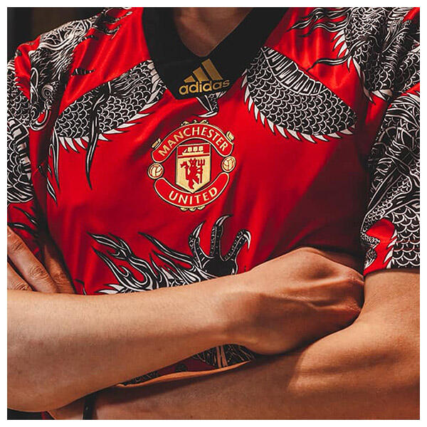 Manchester United's 2019-20 Chinese New Year jersey is the club's fourth shirt