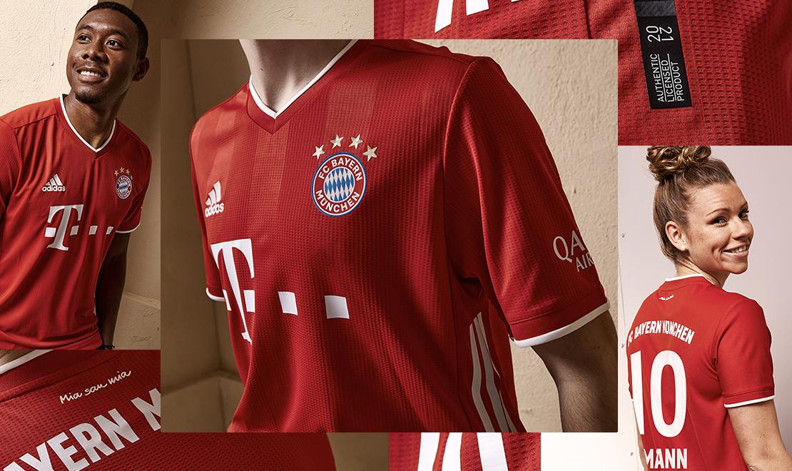 Bayern Munich Home Kit Header