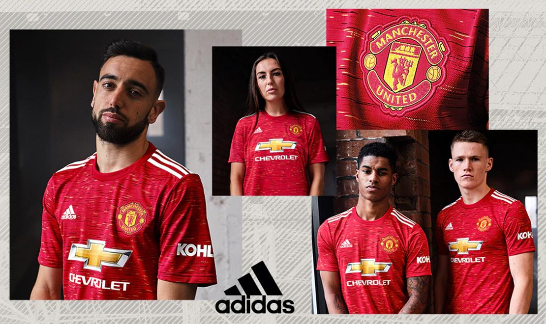 Manchester United Home Kit Header