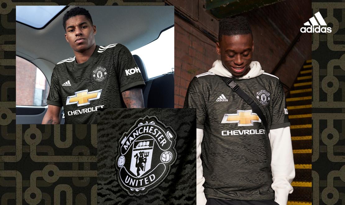 Manchester United Away Kit Header